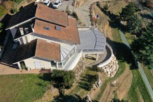 Vue aérienne d'un bien immobilier