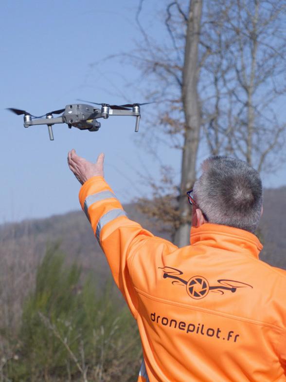 Télépilote de drone