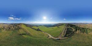 Diaporama à 360° de la plaine de Bièvre, en Isère